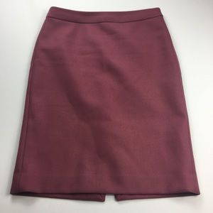 J. Crew Wool Skirt Size 6